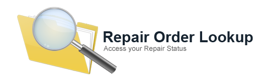 Repair Status Lookup - Access your repair status